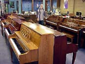 Click for a closer look at Ed Frugé among our large selection of acoustic pianos!