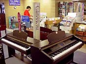 Click to view a portion of Lake Charles Music\'s digital piano selection!