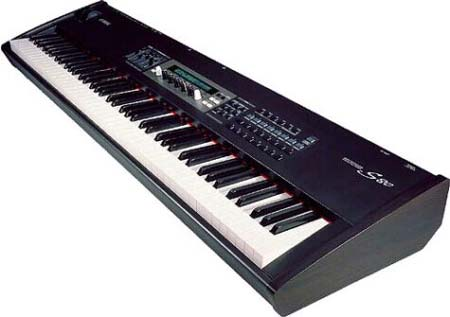 Click to get a closer view of this Yamaha S-80 keyboard!