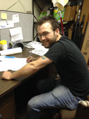 Click to view a larger image of Stratton Doyle - Shipping and Receiving Manager.